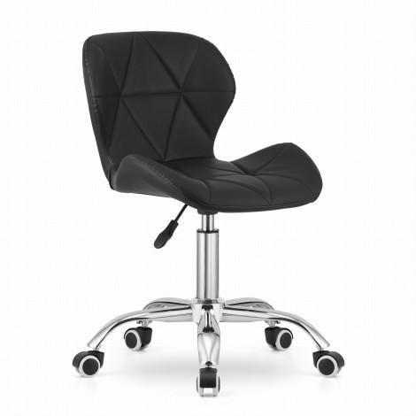 Krzesło obrotowe AVOLA - czarne