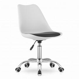 Kėdė ALBA balta / juoda