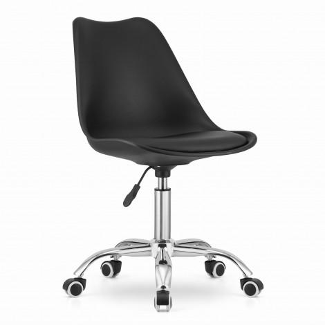 Krzesło obrotowe ALBA - czarne