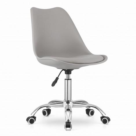 Krzesło obrotowe ALBA - szare