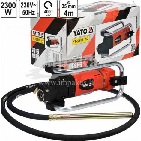 "giluminis betono vibratorius ""YATO YT-82601"""