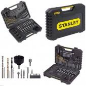 """Grąžtų ir galvučių rinkinys """"Stanley"""" x100"""