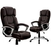 """Biuro kėdė """"BOSSE"""" ruda, juoda"""