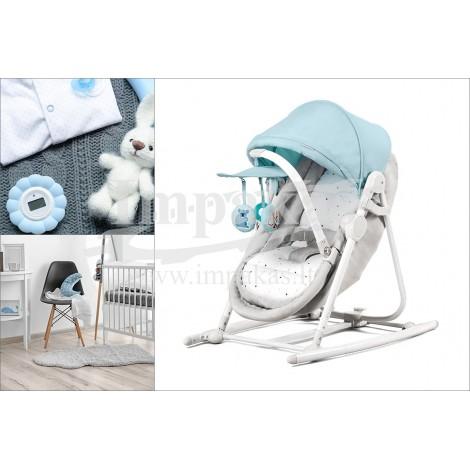 """Supamasis lopšys-kėdutė kūdikiui """"KinderKraft"""""""