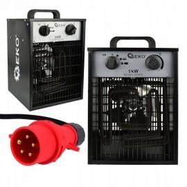 "Elektrinis oro šildytuvas ""Geko"" 5kW"