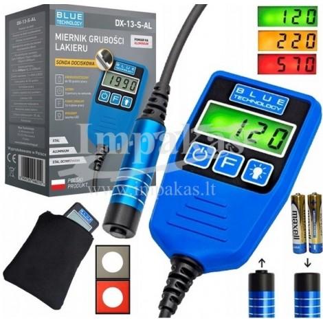 Skaitmeninis dažų storio matuoklis / dažų storio testeris DX-13-S-AL