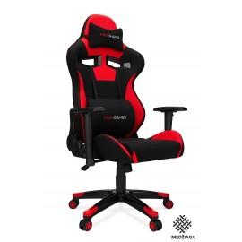 """Žaidimų kėdė """"AGURI"""" medžiaga, raudona"""