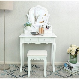 """Kosmetinis makiažo staliukas su taburete """"Diana"""""""
