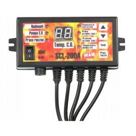 Katilo termostatas, valdiklis – ventiliatoriui