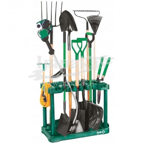 Sodo įrankių stovas su ratukais FLO
