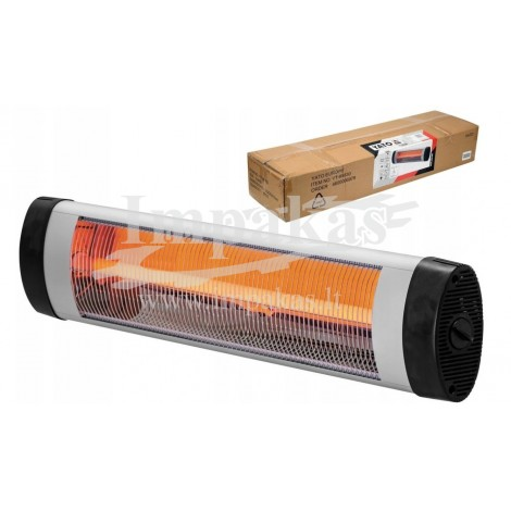 Infraraudonųjų spindulių šildytuvas YATO, 2000W, YT-99536