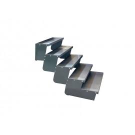 5-ių pakopų Moduliniai reguliuojami laiptai - 90cm