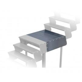 Laiptų platforma 810x900 (juodo metalo)