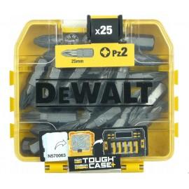 DeWALT 25 vnt. sukimo antgalių rinkinys, DT71521-QZ
