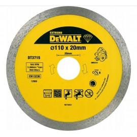 DeWalt Deimantinis pjovimo diskas EXTREME sausam pjovimui 110mm, DT3715