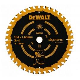 DeWalt Pjovimo diskas medienai 184mm, DT10303