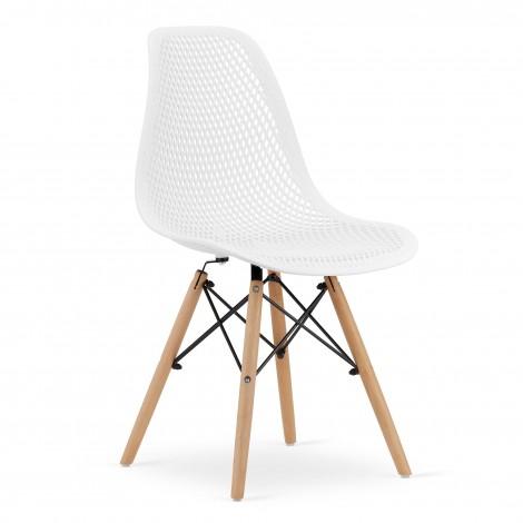 Krzesło MARO - białe x 4